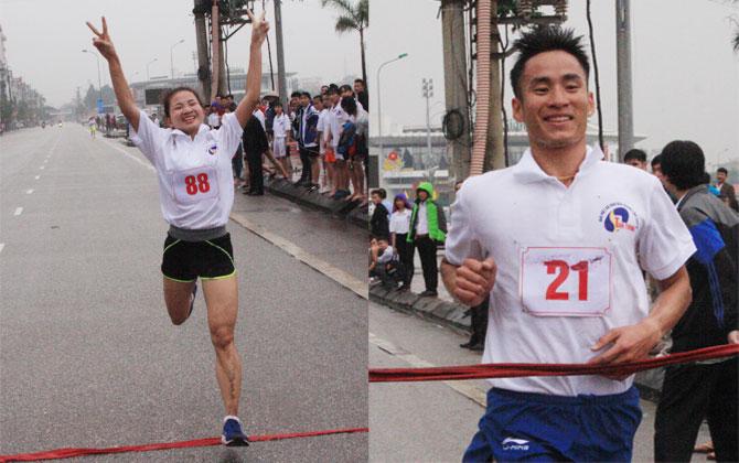 Hai nhà vô địch tại Giải Việt dã Báo Bắc Giang lần thứ 36